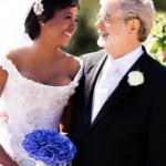George Lucas & Mellody Hobson Wed
