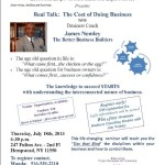"Hempstead Rebirth Presents Seminar on ""The Cost of Doing Business"", July 18th"
