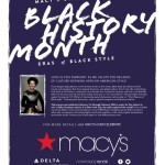 Macy's Salutes Culture-Defining Eras of Black Style in Celebration of Black History Month 2014