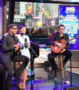 NYTrend was in the building when Toni Braxton and Babyface performed on Good Morning America on Feb 7, 2014