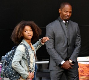 Jamie Foxx & Quvenzhané Wallis Remake Annie [VIDEO]