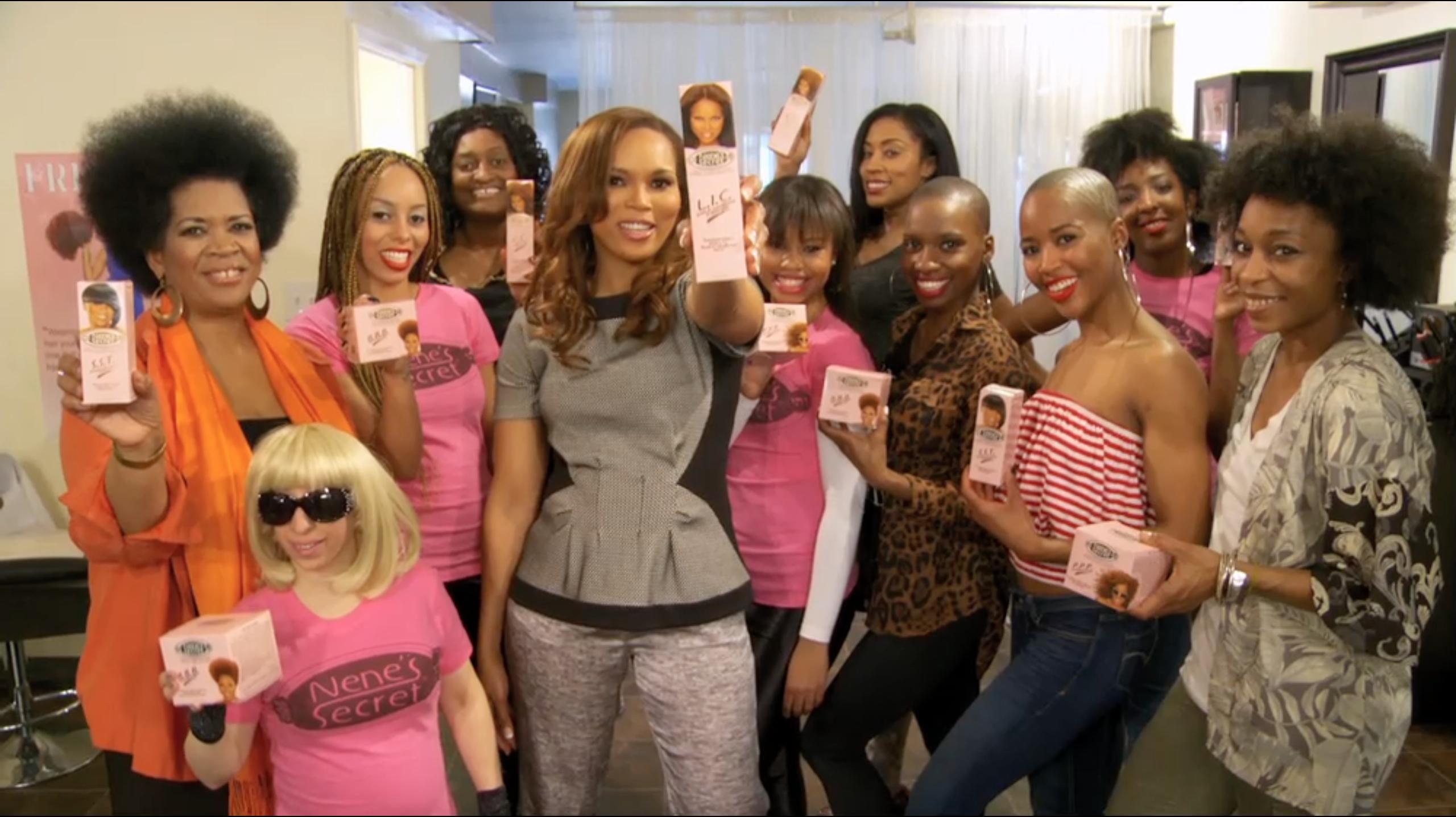 Nene s secret founder nene marks balances hair care beauty