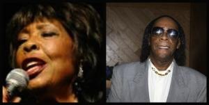 Gloria Lynne and her son, Richard PJ Alleyne