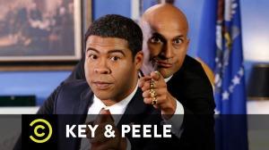 "Key & Peele's ""Obama Anger Translator"" skit. Via Comedy Central."