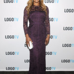 Laverne Cox in Monique Lhuillier