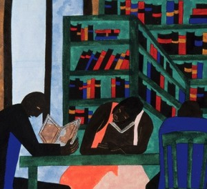 1963- Jacob Lawrence Libraries Are Appreciated