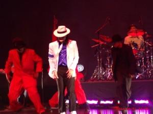 MJ Impersonator Pete Carter