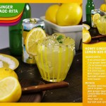 Celebrate the First Day of Spring with a Refreshing LEMON-ADE-RITA Recipe