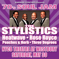 The 70's Soul Jam Goes Disco at the NYCB Theatre at Westbury May 30th