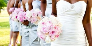 africanamerican-bridal-party