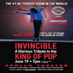 """Invincible"" Honoring Michael Jackson at Apollo and NJPAC"