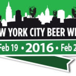 """8th Annual New York City Beer Week"" February 19 - 28, 2016"
