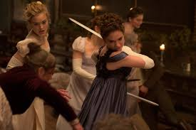 The best selling novel comes to unlife in Pride and Prejudice and Zombies. Image used from collider.com