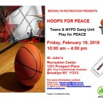 Brooklyn Recreation Presents: Hoops for Peace