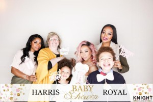 (l-r) Toya Carter, Diane Cottle, Tiny Harris, King Harris, Monica Brown
