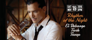 El Debarge part of the Rhythm of the Night