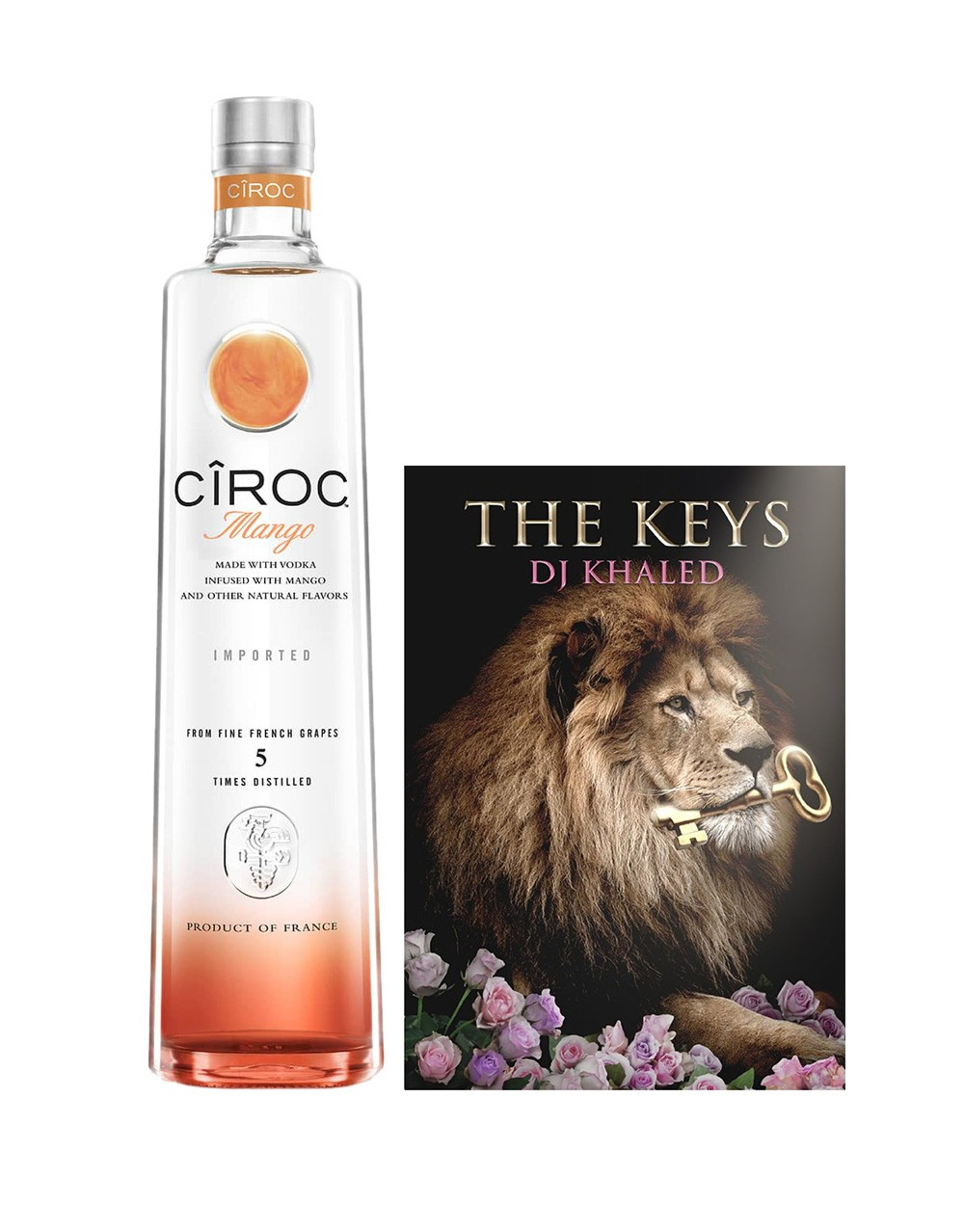 ... Ultra Premium Vodka partner with Snapchat sensation, business mogul and recording artist DJ Khaled to launch a limited edition CÎROC Mango gift set.