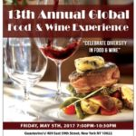 BCA Global Announces 13th Annual Global Food & Wine Experience, Friday May 5th at Gustavino's