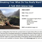 Free Event: A Talk With Selena Sage
