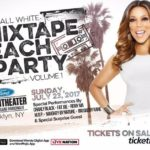 Wendy Williams' All White Mixtape Beach Party