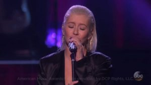 Christina Aguilera Performs Tribute to Whitney Houston on AMA's [VIDEO]