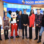 "Teens Surprised Live on ""GMA'' with Mentoring Trip to Disney Dreamers Academy"
