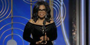 Oprah Winfrey Golden Globes Cecil B. DeMille Award Speech
