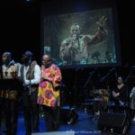Harry Belafonte Celebrated During a Concert at Aaron Davis Hall