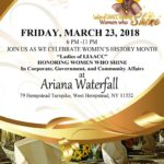 "LIAACC Presents the ""Women Who Shine"" Awards on March 23rd"