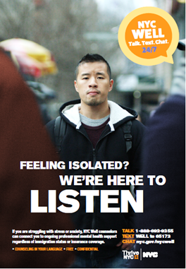 Nyc Health Department Launches New Nyc Well Awareness Campaign