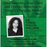 Dr. Teresa Taylor Williams Featured in Speakers Series - June 14th