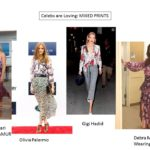 Celebrity Trends: Mixed Prints