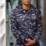 Queens Native Serves aboard a Floating Airport at Sea