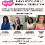 Long Island Girl Talk Holiday Celebration - December 8, 2018