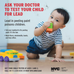 NYC Health Department Launches Child Blood Lead Testing Campaign