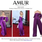 Mena Suvari Looks Breathtaking in AMUR