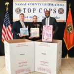 Legislator Kevan Abrahams Helps Make the  Holiday Season Brighter with Toys for Tots
