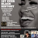 1st Ever International Black History Month Film Fest with Live Performances More!