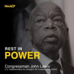 We  Mourn the Passing of Congressman John Lewis