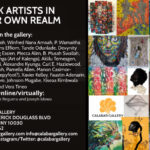 """Harlem's Calabar Gallery Presents """"Black Artists In Their Own Realm,"""" Curated By Atim Annette Oton"""